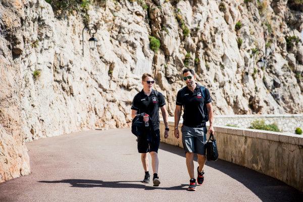 2017 FIA Formula 2 Round 3. Monte Carlo, Monaco. Wednesday 24 May 2017. Gustav Malja (SWE, Racing Engineering)  Photo: Zak Mauger/FIA Formula 2. ref: Digital Image _54I4672