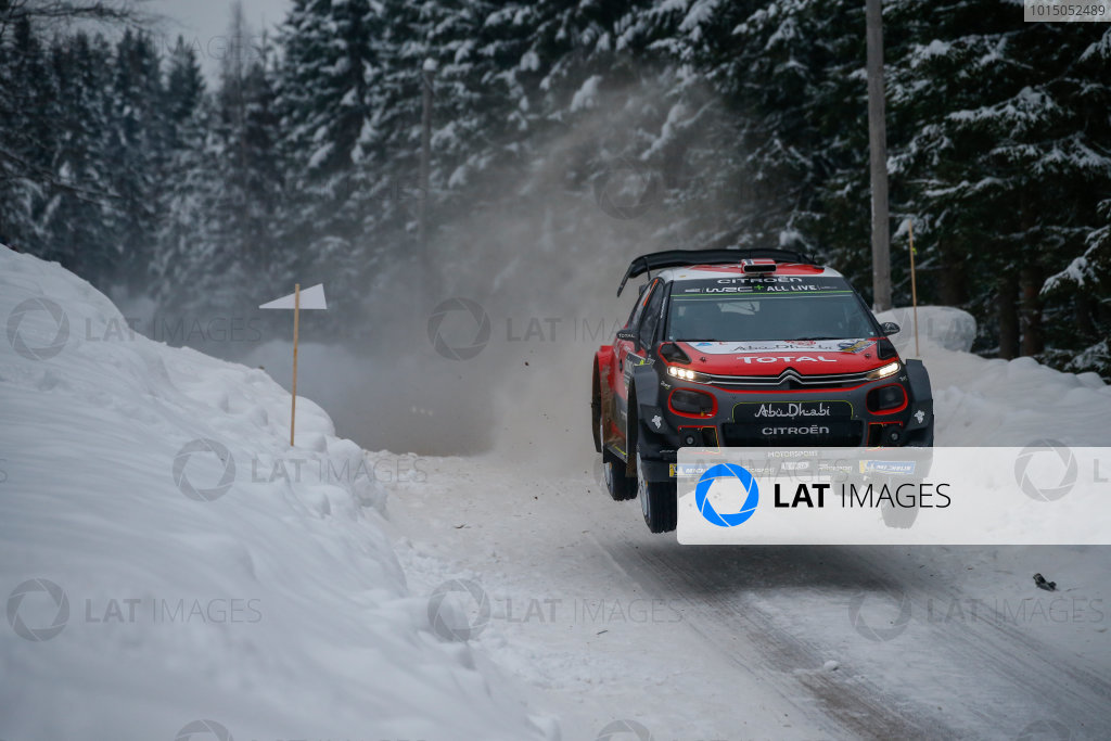 2018 FIA World Rally Championship, Round 02, Rally Sweden 2018, February 15-18, 2018. Mads Ostberg, Citroen, Action Worldwide Copyright: McKlein/LAT