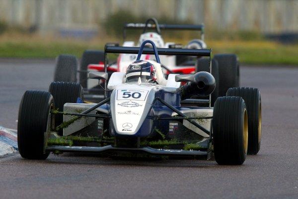 Race 2 - Greg Mansell (GBR) Fortec Motorsport British Formula Three, Thruxton, England.23rd September 2006DIGITAL IMAGE