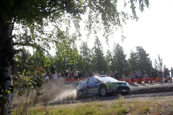 Round 09Rally Finland 39Juli-3 August  2009Jari-Matti Latvala, Ford WRC, Action.Worldwide Copyright: McKlein/LAT