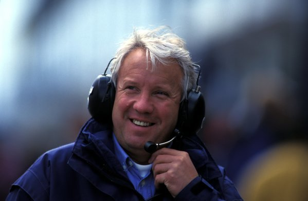 Charlie Whiting (GBR) FIA Safety Delegate and Official Race Starter. Formula One World Championship, European Grand Prix, Nurburgring, Germany, 1 October 1995.