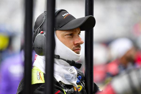 #12: Ryan Blaney, Team Penske, Ford Mustang Menards/Tarkett crew