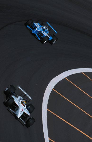 1999 CART Chicago GP, 22/8/99Helio Castro Neves and Greg Moore-1999, Michael L. Levitt, USALAT PHOTOGRAPHIC