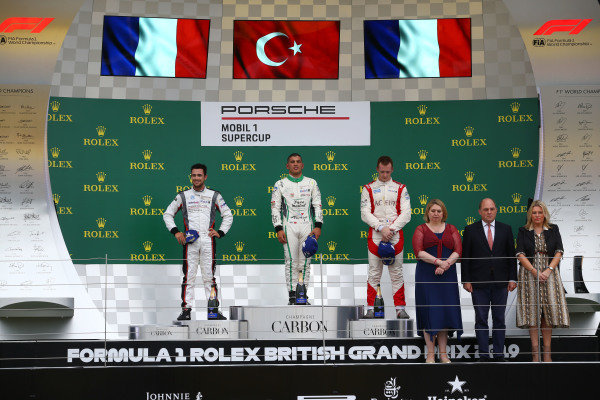 Podium   - Porsche Supercup Race