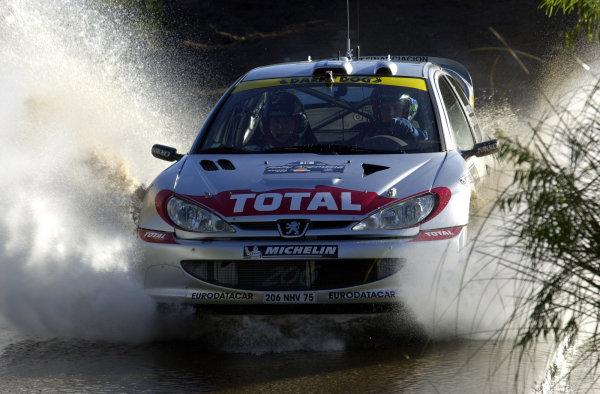 2001 World Rally Championship. ArgentinaMay 3rd-6th, 2001Harri Rovanpera during shakedown.Photo: Ralph Hardwick/LAT