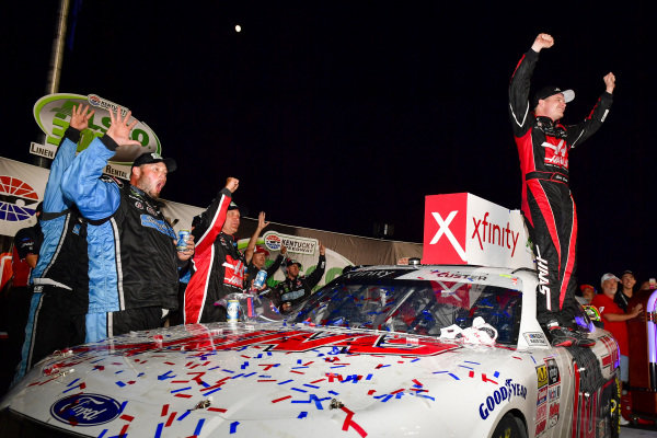 #00: Cole Custer, Stewart-Haas Racing, Ford Mustang Haas Automation wins at Kentucky