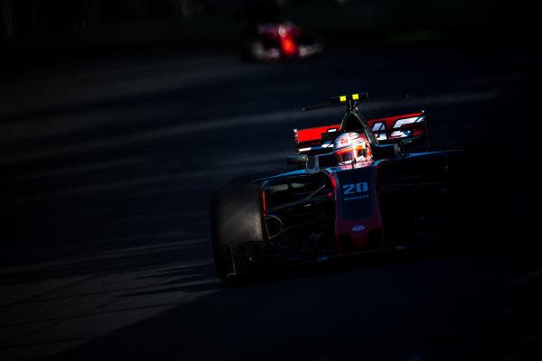 Kevin Magnussen (DEN) Haas VF-17 at Formula One World Championship, Rd1, Australian Grand Prix, Race, Albert Park, Melbourne, Australia, Sunday 26 March 2017.