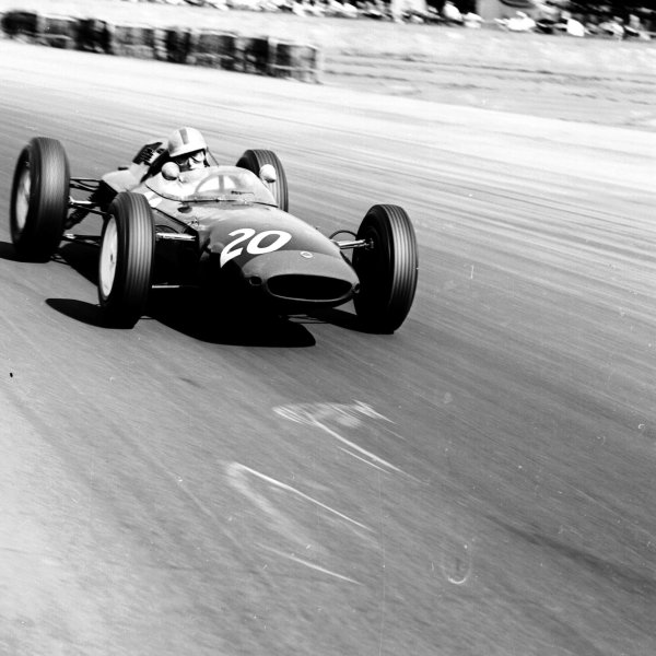 1963 British Grand Prix.Silverstone, England.18-20 July 1963.Mike Hailwood (Lotus 24 Climax) 8th position.Ref-20383.World Copyright - LAT Photographic