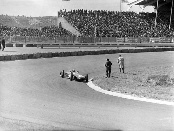 Trevor Taylor, Lotus 24 Climax.