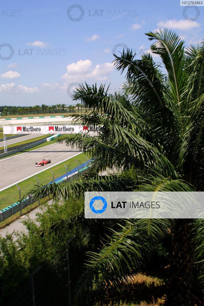 2003 Malaysian Grand Prix - Friday Qualifying.