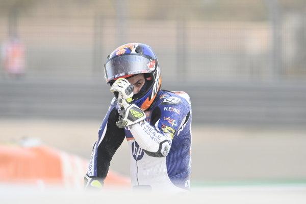 Hector Garzo, Pons HP40 crash.