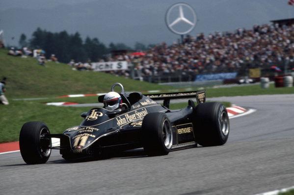 Elio de Angelis, Lotus 91 Ford.