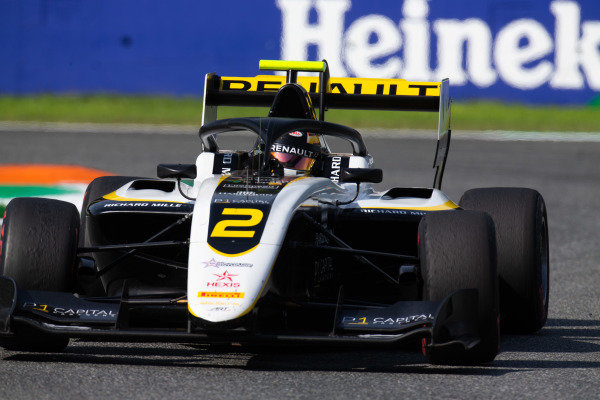 AUTODROMO NAZIONALE MONZA, ITALY - SEPTEMBER 07: Max Fewtrell (GBR, ART Grand Prix) during the Monza at Autodromo Nazionale Monza on September 07, 2019 in Autodromo Nazionale Monza, Italy. (Photo by Joe Portlock / LAT Images / FIA F3 Championship)