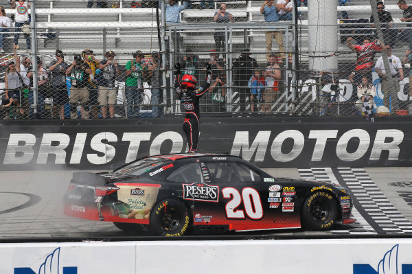 NASCAR Xfinity Series Fitzgerald Glider Kits 300 Bristol Motor Speedway, Bristol, TN USA Saturday 22 April 2017 Erik Jones, Reser's American Classic Toyota Camry World Copyright: Matthew T. Thacker LAT Images ref: Digital Image 17BMS1mt1381