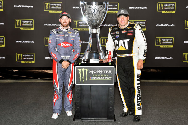 Monster Energy NASCAR Cup Series Federated Auto Parts 400 Richmond Raceway, Richmond, VA USA Saturday 9 September 2017 Austin Dillon, Richard Childress Racing, Chevrolet SS and Ryan Newman, Richard Childress Racing, Caterpillar Chevrolet SS World Copyright: Nigel Kinrade LAT Images