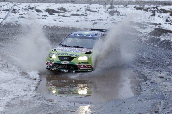 2008 FIA World Rally ChampionshipRound 02Swedish Rally7-10 February 2008Jari-Matti Latvala, Ford, Action.Worldwide Copyright: McKlein/LAT