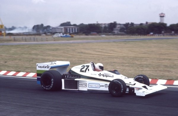 1978 Argentinian Grand Prix.Buenos Aires, Argentina.13-15 January 1978.Alan Jones (Williams FW06-Cosworth), retired, action.World Copyright - LAT Photographic