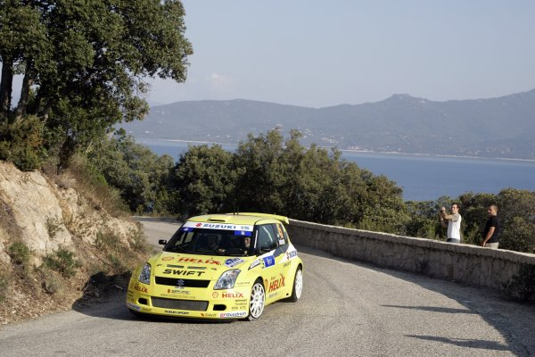 2007 FIA World Rally ChampionshipRound 13Rally of France, Tour de Course 200711-14 October 2007PG Andersson, Suzuki, JWRC, Action.Worldwide Copyright: McKlein/LAT
