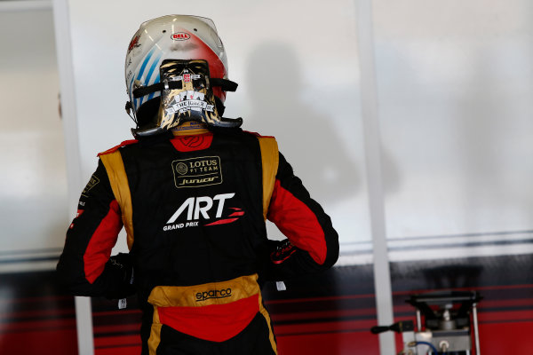 2014 GP3 Series Test 2. Jerez, Spain  Friday 11 April 2014. Alex Fontana, (SUI, ART Grand Prix)  Photo: Sam Bloxham/GP3 Series Media Service. ref: Digital Image _SBL1620