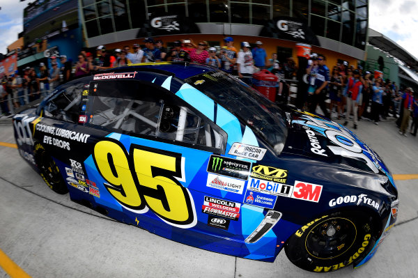 Monster Energy NASCAR Cup Series Ford EcoBoost 400 Homestead-Miami Speedway, Homestead, FL USA Saturday 18 November 2017 Michael McDowell, Leavine Family Racing, Chevrolet SS World Copyright: Rusty Jarrett LAT Images