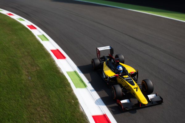2014 GP2 Series. Round 9.   Autodromo di Monza, Monza, Italy. Sunday 7 September 2014. Jolyon Palmer (GBR, DAMS). Photo: Zak Mauger/GP2 Series Media Service. ref: Digital Image _L0U0316