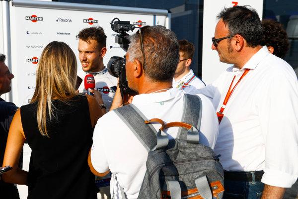 Hungaroring, Budapest, Hungary.  Wednesday 02 August 2017. Luca Ghiotto, Williams FW40 Mercedes. World Copyright: Joe Portlock/LAT Images  ref: Digital Image _R3I8548