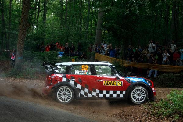 Round 09 - Rally Deutschland 18-21 August 2011.Kris Meeke Mini WRC, Action.Worldwide Copyright: McKlein/LAT