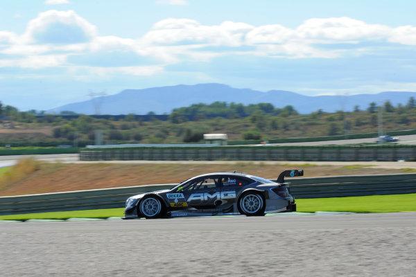 Round 9 - Valencia, Spain28th - 30th September 2012Ralf Schumacher (GER), Team HWA AMG Mercedes, AMG Mercedes C-CoupeWorld Copyright:  XPB Images / LAT Photographicref: Digital Image 2375277_HiRes