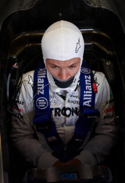 Spa-Francorchamps, Spa, Belgium 26th August 2011. Nico Rosberg, Mercedes GP W02. Portrait.  World Copyright: Steve Etherington/LAT Photographic ref: Digital Image SNE26709