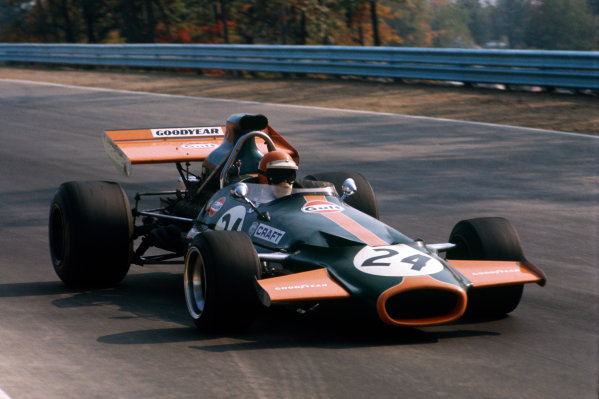 1971 United States Grand Prix.  Watkins Glen, New York, USA. 1st-3rd October 1971.  Chris Craft, Brabham BT33 Ford.  Ref: 71USA41. World Copyright: LAT Photographic