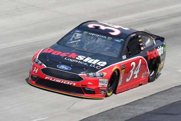#34: Michael McDowell, Front Row Motorsports, Ford Fusion Dockside Logistics