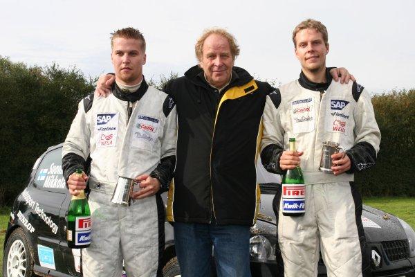 2005 British Rally Championship 2005,Trackrod Rally Yorkshire, 8-9th October 2005.Vesa MikkolaWorld Copyright: Ebrey/LAT Photographic