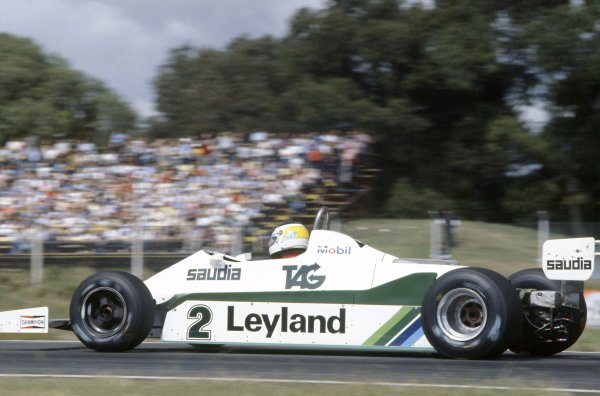 1981 Argentinian Grand Prix.Buenos Aires, Argentina. 10-12 April 1981.Carlos Reutemann (Williams FW07C-Ford Cosworth), 2nd position.World Copyright: LAT PhotographicRef: 35mm transparency 81ARG13