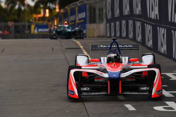 2017/2018 FIA Formula E Championship. Round 1 - Hong Kong, China. Saturday 02 December 2018. Nick Heifeld (GER), Mahindra Racing, Mahindra M4Electro. Photo: Mark Sutton/LAT/Formula E ref: Digital Image DSC_8506