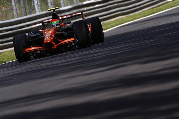 2007 Italian Grand Prix - Friday PracticeAutodromo di Monza, Monza, Italy.7th September 2007.Sakon Yamamoto, Spyker F8-VII Ferrari. Action. World Copyright: Lorenzo Bellanca/LAT Photographicref: Digital Image _64I4899