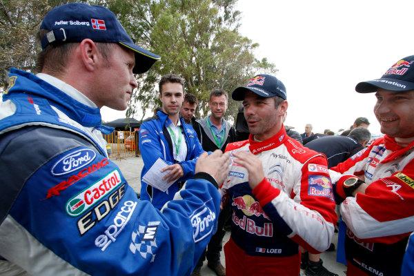 Round 06 - Rally Acropolis, Greece. 24-27 May 2012. Sebastien Loeb, Citroen  WRC, Portrait.  Worldwide Copyright: McKlein/LAT