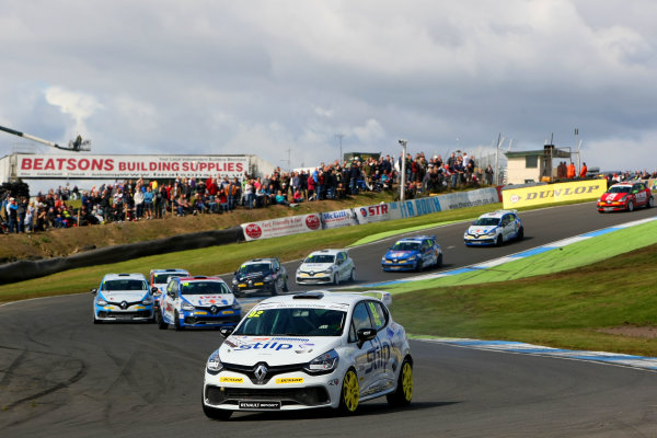 2014 Renault Clio Cup, Knockhill, Scotland. 22nd - 24th August 2014. Jordan Stilp (GBR) 20Ten Racing Renault Clio Cup. World Copyright: Ebrey / LAT Photographic.