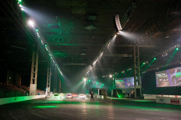 Autosport International Exhibition. National Exhibition Centre, Birmingham, UK. Sunday 11 January 2015. The Live Action Arena. World Copyright: Zak Mauger/LAT Photographic. ref: Digital Image _P7T0754