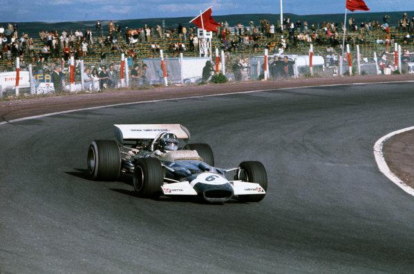Jarama, Madrid, Spain. .17-19 April 1970.  Graham Hill, Lotus 49C Ford, 4th position.  Ref: 70ESP09. World Copyright: LAT Photographic