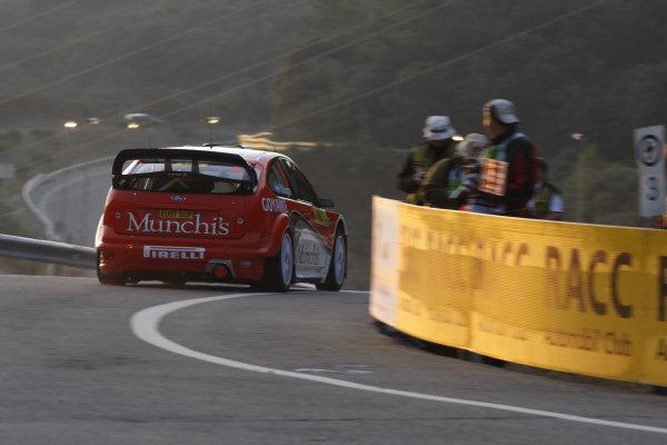 Round 11Rally Catalunya 01-04 October 2009Frederico Villagra, WRC, Ford, ActionWorldwide Copyright: McKlein/LAT