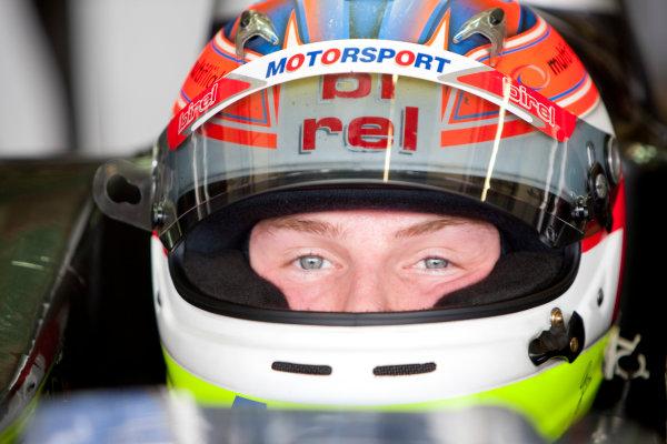Jerez, Spain. Thursday 8th October. Jon Lancaster (GBR, Dams). Portrait.  World Copyright: Alastair Staley/ GP2 Series Media Service.Ref: _O9T7189 jpg