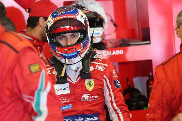 #52 AF Corse Ferrari 488 GTE EVO: Pipo Derani