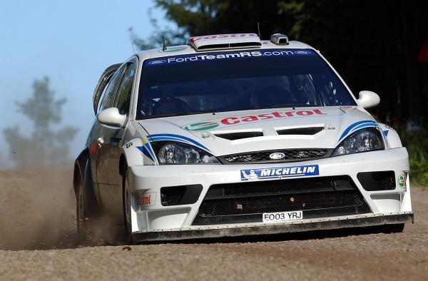 Markko Martin (EST) & co-driver Michael Park (GBR), Ford Focus RS WRC 03, won the 2003 Rally Finland.FIA World Rally Championship, Rd9, Neste Rally Finland, Jyvaskyla, Finland. Day 3, 10 August 2003.DIGITAL IMAGE