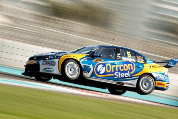 YAS Marina Circuit, Abu Dhabi. 10th -  12h February 2011. Mark Winterbottom, (Prodrive Racing (Aust) pty Ltd). Action.  World Copyright: Drew Gibson/LAT Photographicref: Digital Image DG5D8017