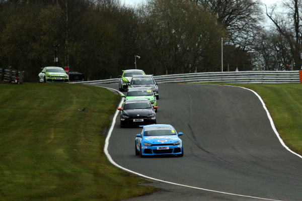 2015 Volkswagen Racing Cup, Oulton Park, Cheshire. 4th - 6th April 2015. Joe McMillan (GBR) Cobra Engineering Scirocco R. World Copyright: Ebrey / LAT Photographic.