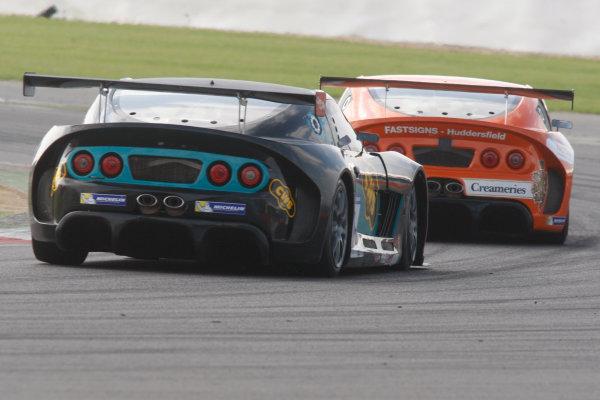 2013 Ginetta GT Supercup,Silverstone, Northants, 28th-29th Septemver 2013,Colin White (GBR) CWS Ginetta G55World Copyright. Jakob Ebrey/LAT Photographic