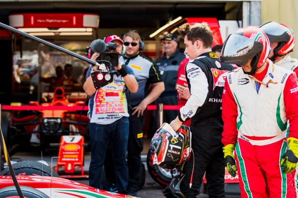 2017 FIA Formula 2 Round 3. Monte Carlo, Monaco. Saturday 27 May 2017. Charles Leclerc (MCO, PREMA Racing) retires from the race. Photo: Zak Mauger/FIA Formula 2. ref: Digital Image _56I7516