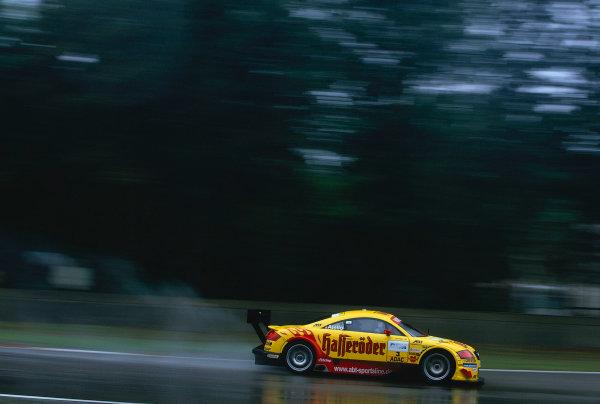 2002 DTM Championship, Zolder, Belgium. Rd 2, 4th-5th May 2002.Laurent Aiello (F), Abt-Audi TT-RWorld Copyright: Lawrence/LAT Photographic