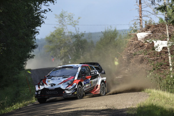 High speeds are the norm on Rally Finland, and nobody knows this better than Jari Matti Latvala