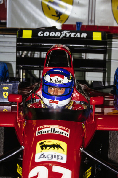 Gianni Morbidelli, Ferrari 643.